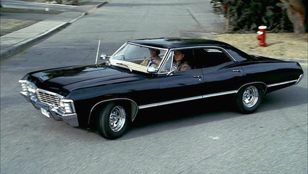The Impala from Supernatural.