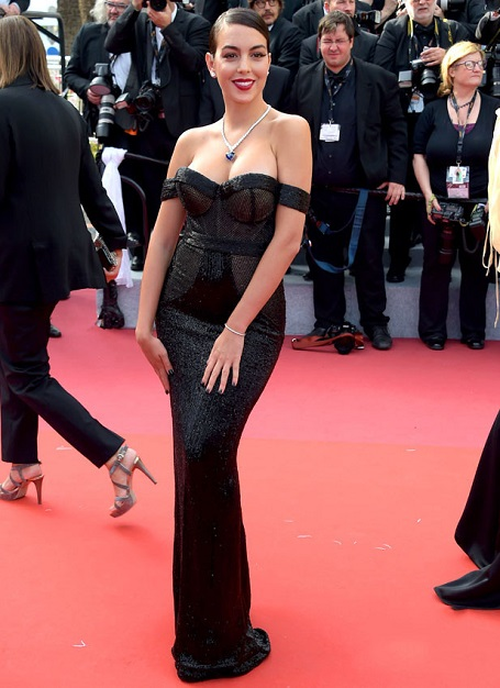 The Spanish model was stunning at the Cannes Film Festival