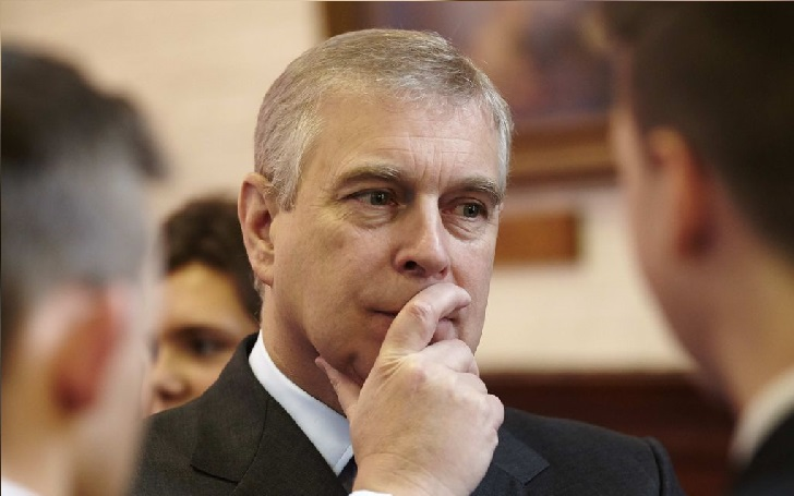 Prince Andrew, The Duke of York, Suspected of Groping A Young Woman's Breast at Jeffrey Epstein's Mansion