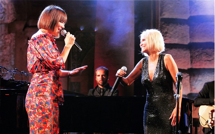 Kristin Chenoweth And Katharine McPhee Perform 'Wicked' Duet on Gay Cruise