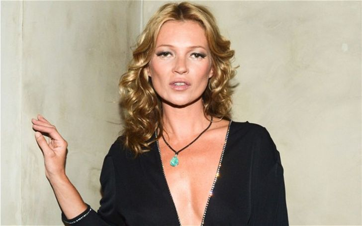 Kate Moss Showed Her Sporty Side As She Dived From Her Yacht Into The Sea While Wearing A Bikini