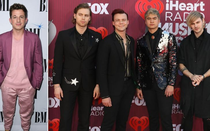 Charlie Puth Teamed Up With 5 Seconds Of Summer For A New Version Of The Band's Recent Song 'Easier'