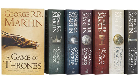 Game of Thrones book series.