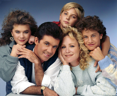 Growing Pains cast.