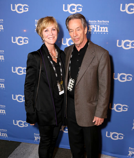 Joanna Kerns and her husband Marc Appleton.