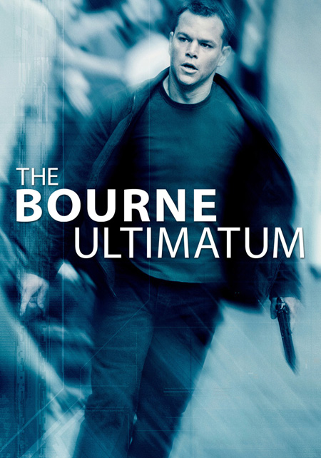 The poster of Bourne Ultimatum