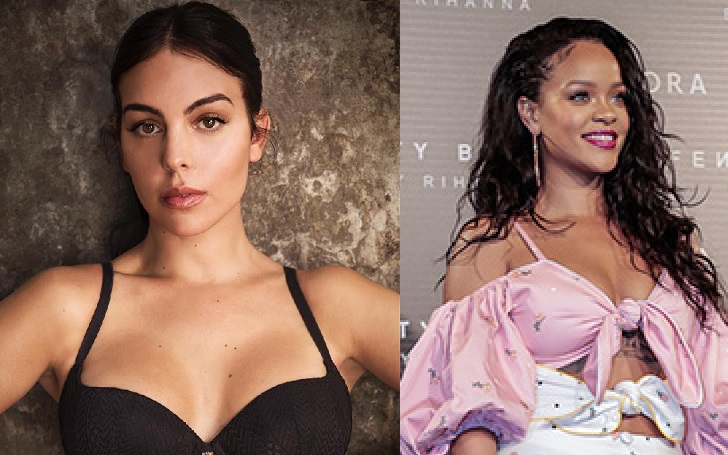 Georgina Rodriguez Is Collaborating With Rihanna In An Upcoming Campaign For Fenty Beauty; Check Out Her Behind The Scenes Clips!