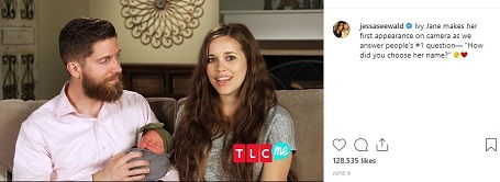 Jessa and Ben appeared on TLC to discuss the birth of Ivy.