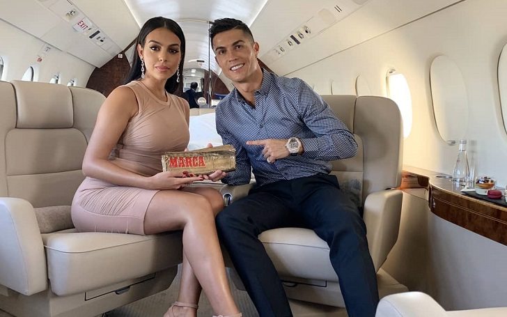 Georgina Rodriguez Bids Goodnight To Her Fans With An Adorable Instagram Story Alongside Her Boyfriend Cristiano Ronaldo
