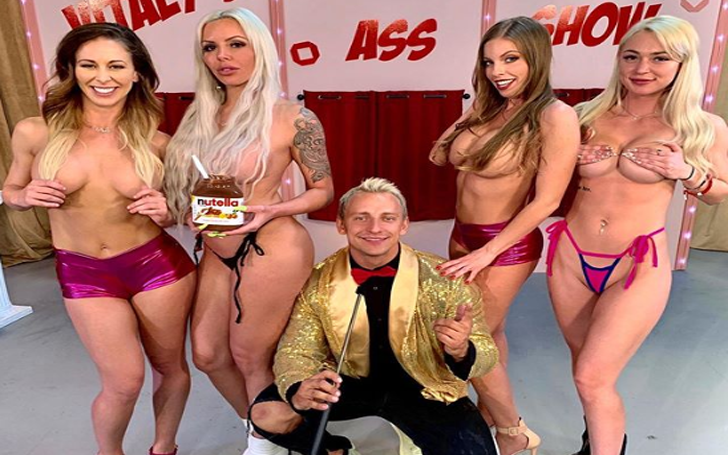 Vitaly's Big Ass Game Show Is The Only Place Where 'You Can Eat Some ASS And Win Some CASH'