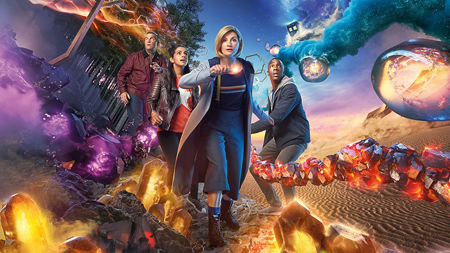 The poster for Doctor Who season 11.