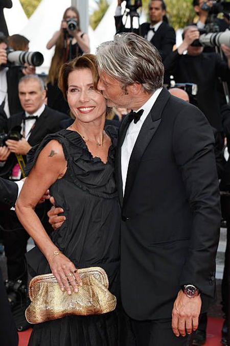 Image result for Mads Mikkelsen wife