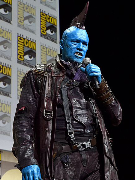 Michael Rooker as Yondu.