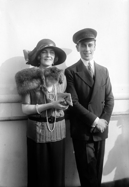 Lord Mountbatten and his wife.