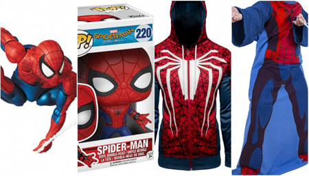 Spider-Man Merch.