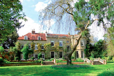 The UK mansion purchased for $13.5 million.