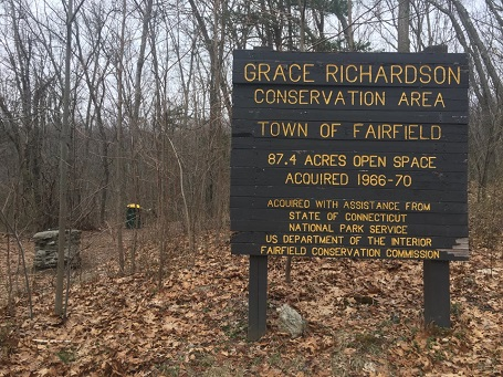 Grace Richardson parcel is was part of a major acquisition by the town from the H. Smith Richardson family in 1966.
