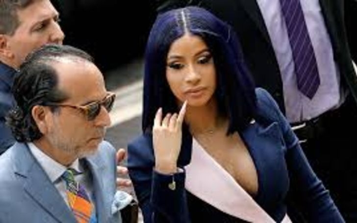 Cardi B Bodyguard Accused in Strip Club Fight Busted for Selling Crack
