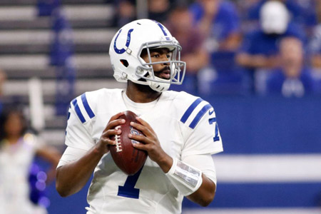 Jacoby Brissett for the Colts.