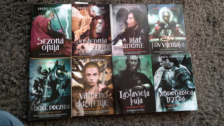 The Witcher book series.
