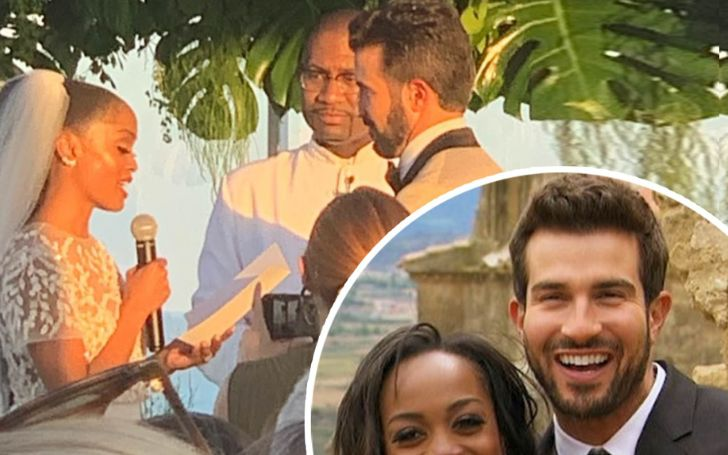 Just Married! Former Bachelorette star Rachel Lindsay Ties the Knot with Bryan Abasolo