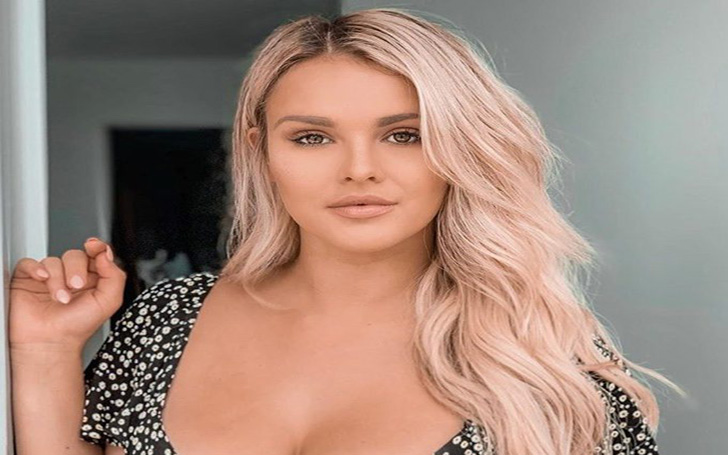 Vitaly's Girlfriend Kinsey Wolanski Jokes She's Now A Victoria's Secret Model