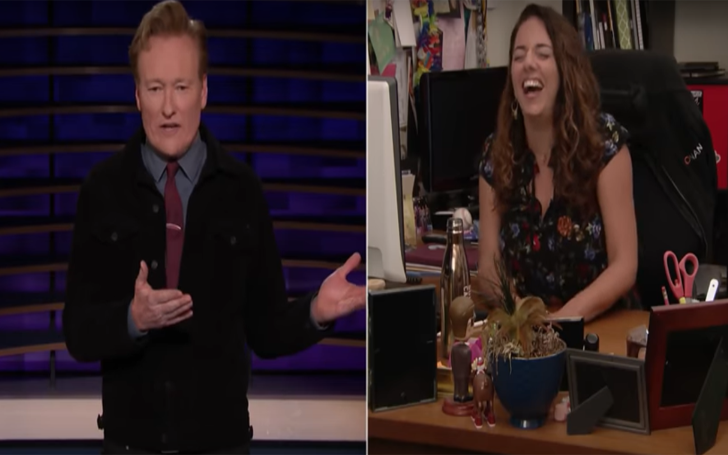 Conan O'Brien's Assistant Sona Is Trying To Out-Binge-Watch Robert De Niro Assistant