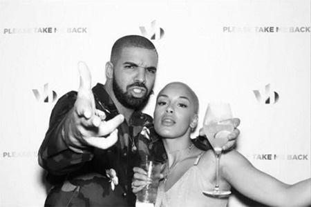 Drake and Jorja Smith.