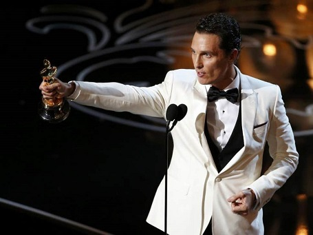 Matthew McConaughey is an Academy and Golden Globe Award winning actor.