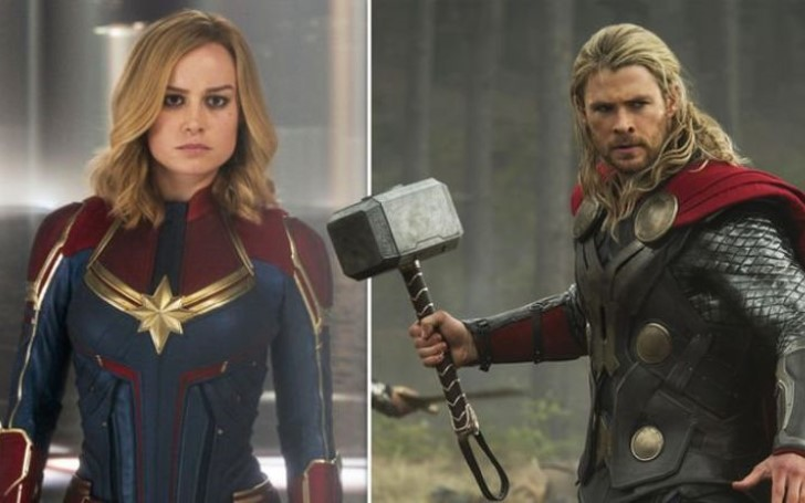 Captain Marvel vs Thor - Who Is More Powerful?