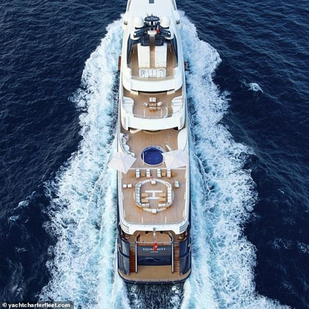 Tranquility superyacht.