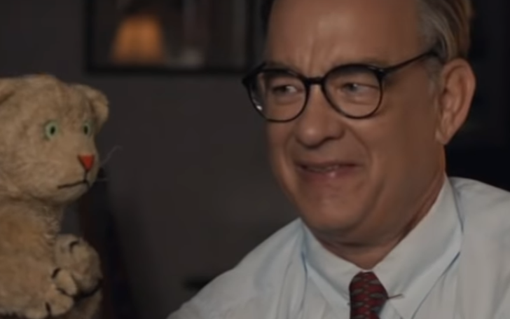 Jimmy Kimmel Debuts Tom Hanks Mister Rogers Movie And It's Considerably Less Heartwarming!