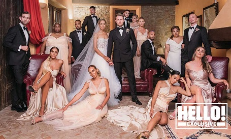 The wedding dress design worn by Leona Lewis is still available for sale