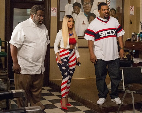 Nicki Minaj Starred in the 2016 hit movie Barbershop: The Next Cut