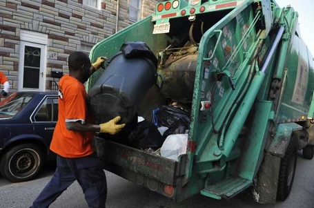 Refuse and recyclable material collecting is one of the most hazardous jobs in the US