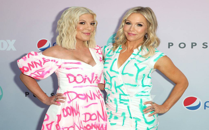 Jennie Garth And Tori Spelling Opened Up About An Explosive Fight Involving Shannen Doherty