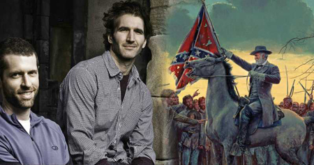 Confederate show from the creators of Game of Thrones canceled.