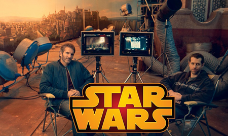 Weiss and Benioff are producing a trilogy of movies for Disney and Star Wars.
