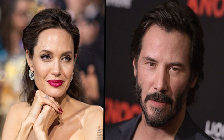 Is There Any Truth To Keanu Reeves & Angelina Jolie Relationship Rumors?