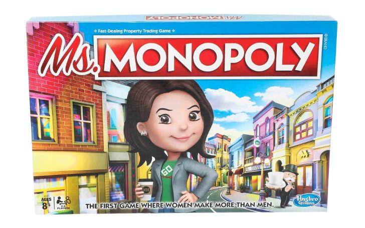 Hasbro Is Launching A New Version Of The Iconic Board Game Ms. Monopoly Supporting Gender Equality