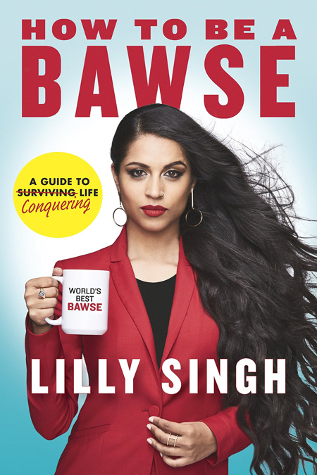 Lilly Singh's book cover