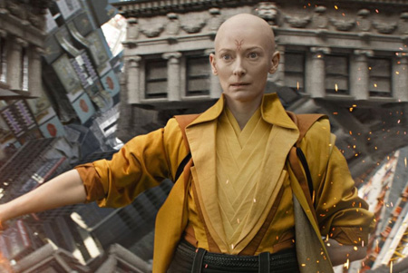 Ancient One uses her power in Doctor Strange