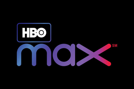 The logo of HBO Max