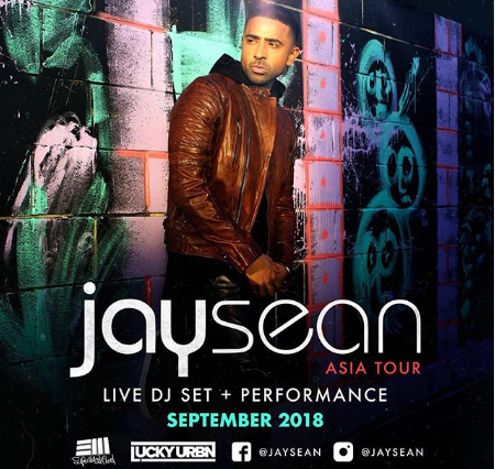 Jay Sean concert photo