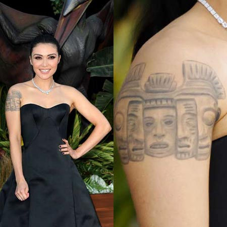 Daniella Pineda's tattoo