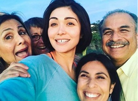 Daniella Pineda's family