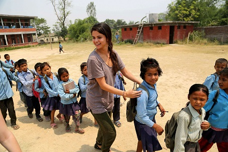 Selena Gomez has traveled across the world for humanitarian work on behalf of UNICEF.