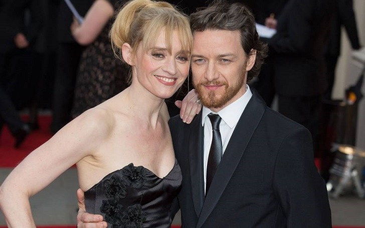 James McAvoy & Ex-Wife Anne-Marie Duff Share A Son - When ...