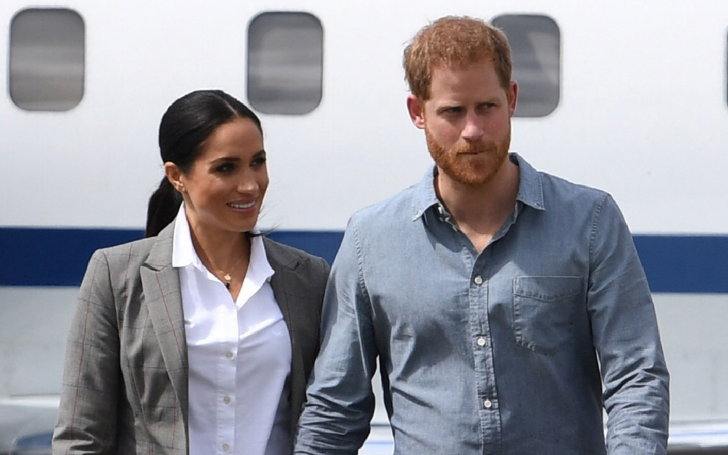 Meghan Markle and Prince Harry Were Seen Arriving in Rome for Misha Nonoo's Wedding