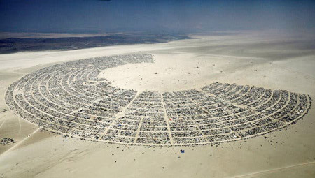 Burning Man Festival in Nevada